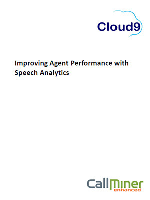 Improving agent performance with speech analytics