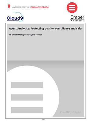 Cloud9 Ember Agent analytics information sheet