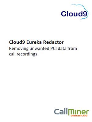Cloud9 Eureka Redactor inforsheet