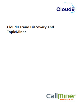 Trend Discovery and Topic iner infosheet